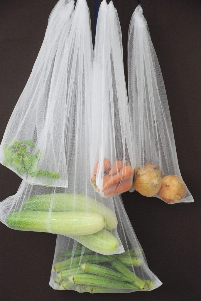 Túi thực phẩm tái sử dụng: Phương pháp giảm thiểu rác thải